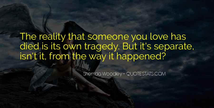 Love Tragedy Quotes #752554
