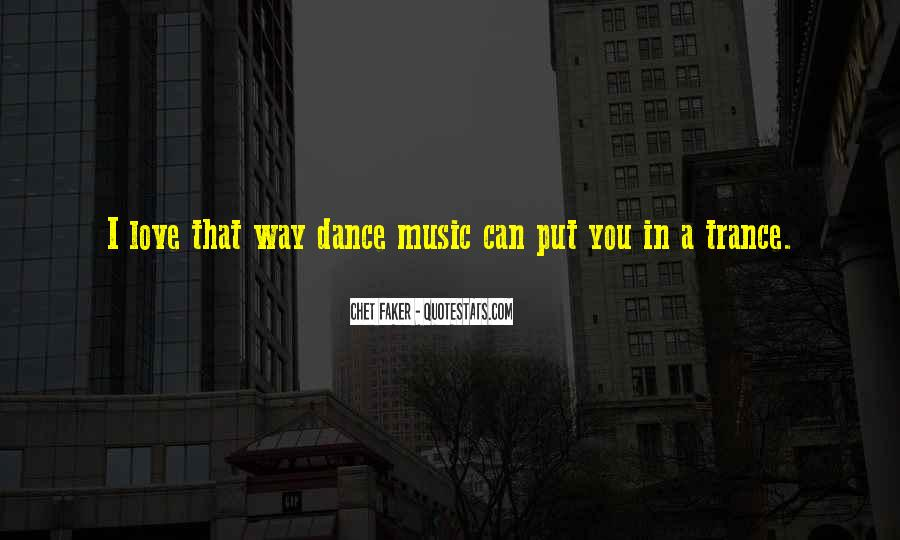 Love Trance Quotes #1105066