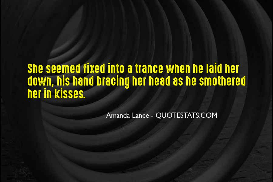 Love Trance Quotes #1512092