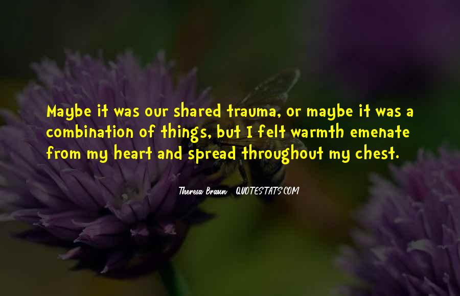 Love Trauma Quotes #290508