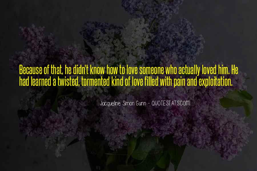 Love Trauma Quotes #31536