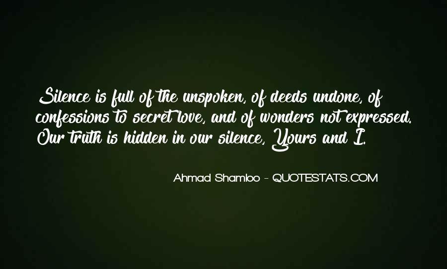 Love Undone Quotes #1473687
