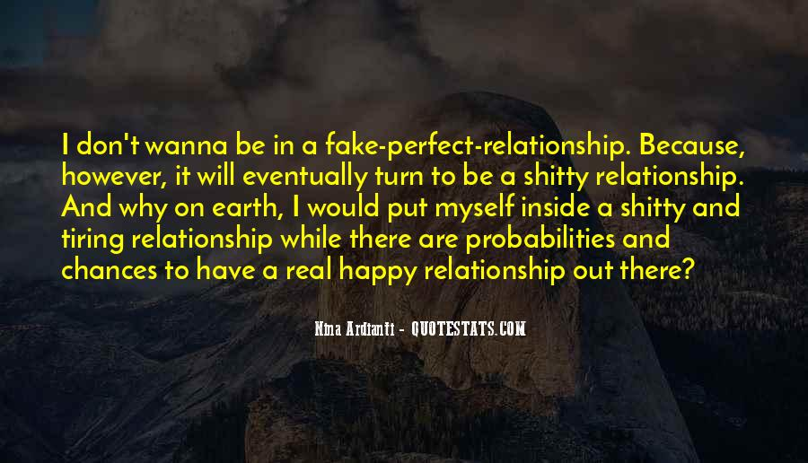 Love Was Fake Quotes #464158