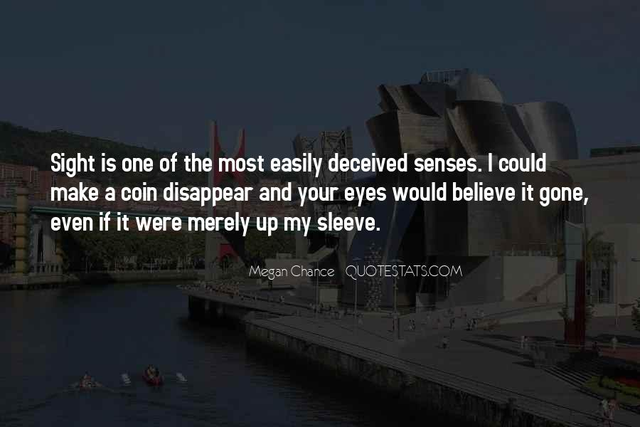Quotes About Deceiving Eyes #1830995