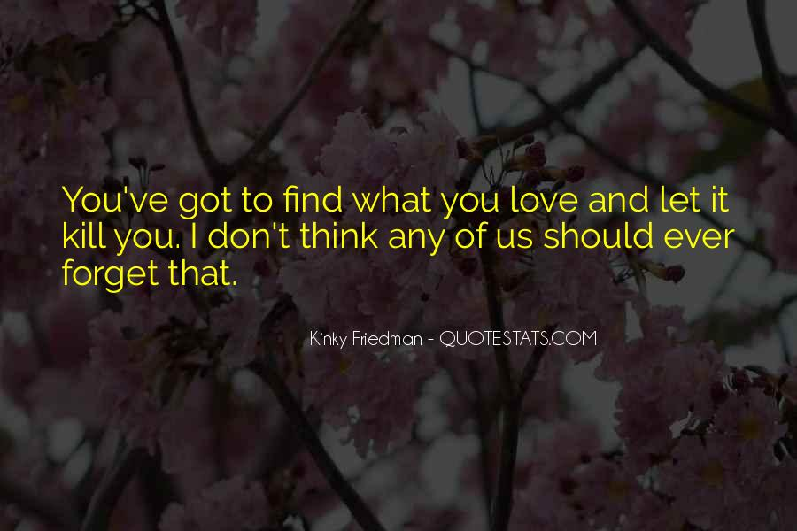 Love What You Got Quotes #114277