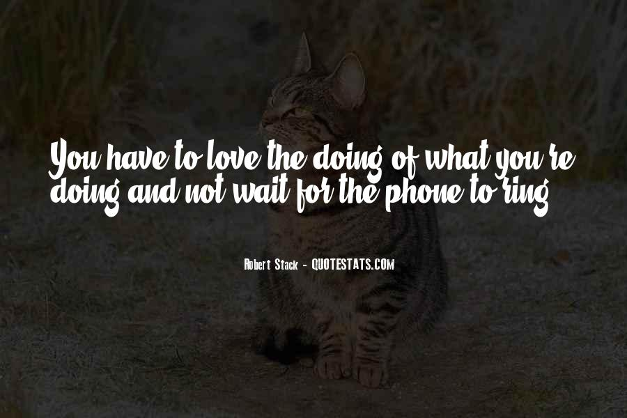 Love What You're Doing Quotes #42991