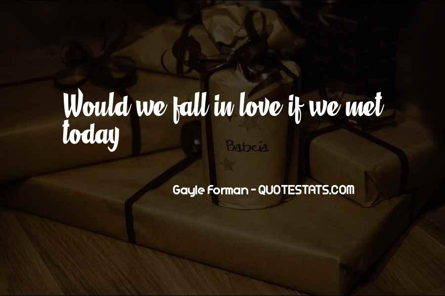 Love Who U Are Quotes #1395