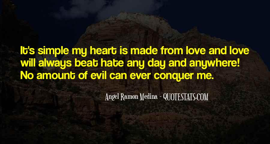 Love Will Conquer Quotes #1072018
