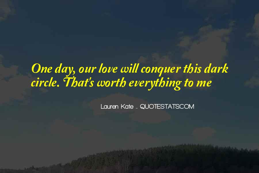 Love Will Conquer Quotes #522028