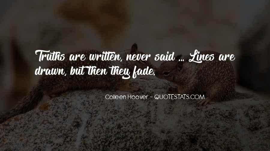 Love Will Fade Away Quotes #241155