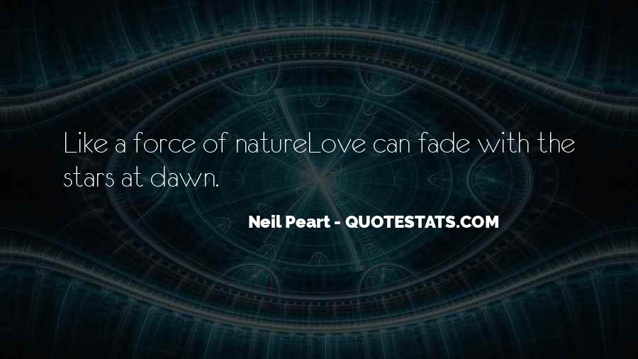 Love Will Fade Away Quotes #3863