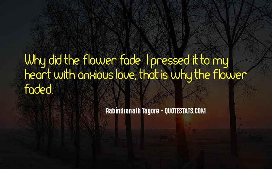 Love Will Fade Away Quotes #817676