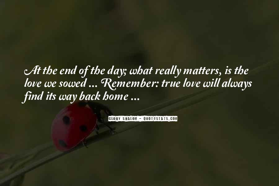 Love Will Find The Way Quotes #1131592
