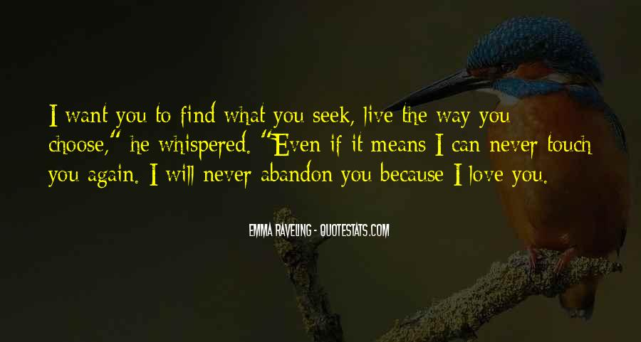 Love Will Find The Way Quotes #1671897