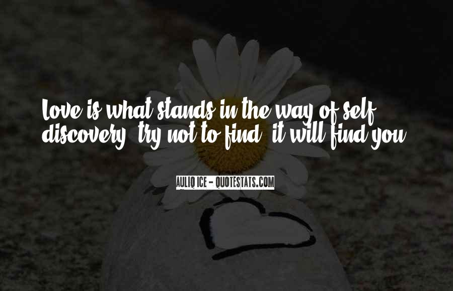 Love Will Find The Way Quotes #1852292