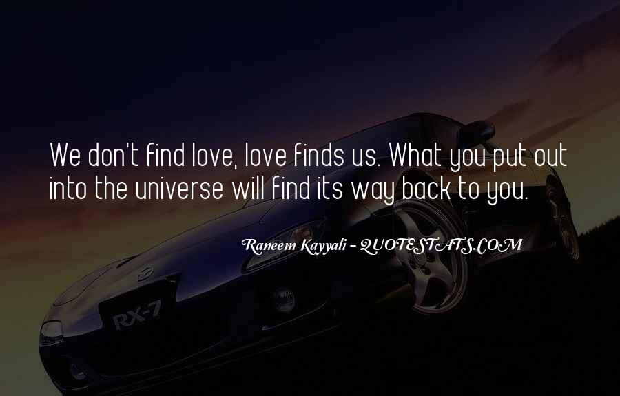 Love Will Find The Way Quotes #756276