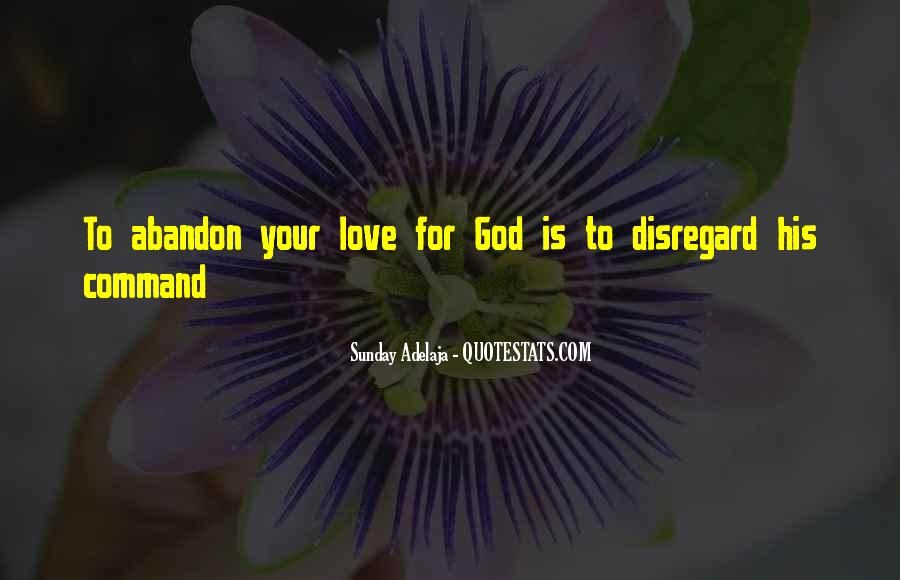 Love With Abandon Quotes #121642