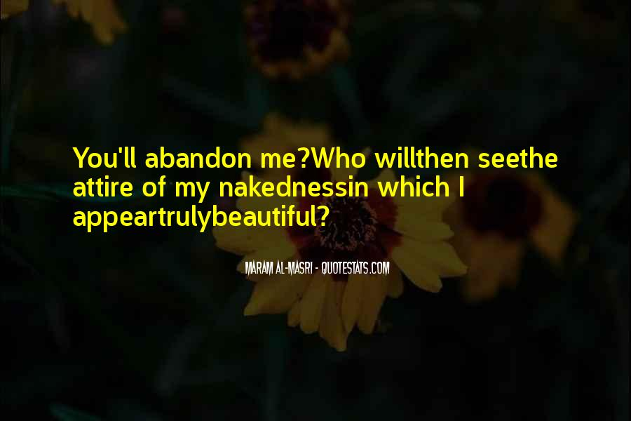 Love With Abandon Quotes #1335276