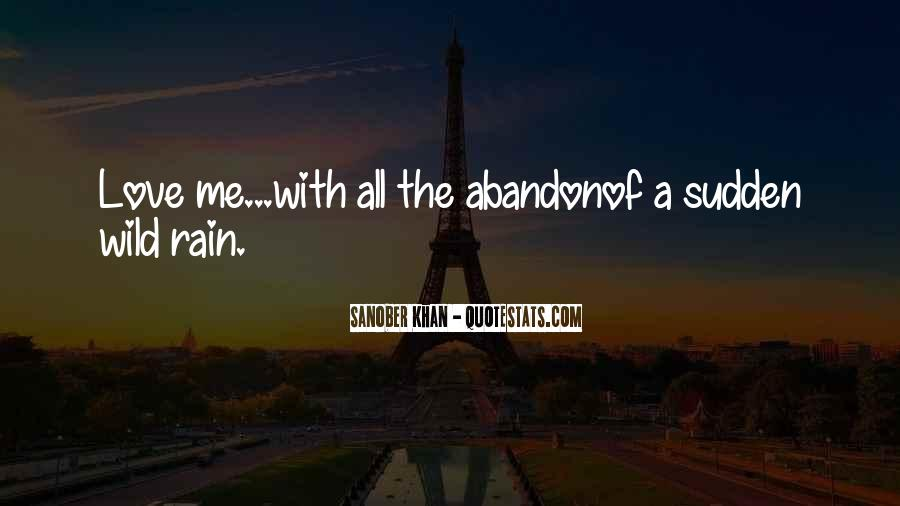 Love With Abandon Quotes #342569