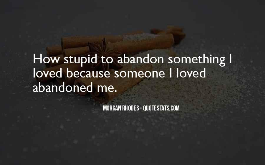 Love With Abandon Quotes #345719