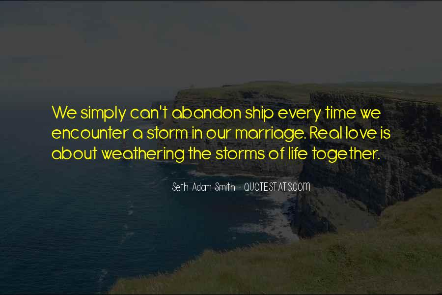 Love With Abandon Quotes #434972