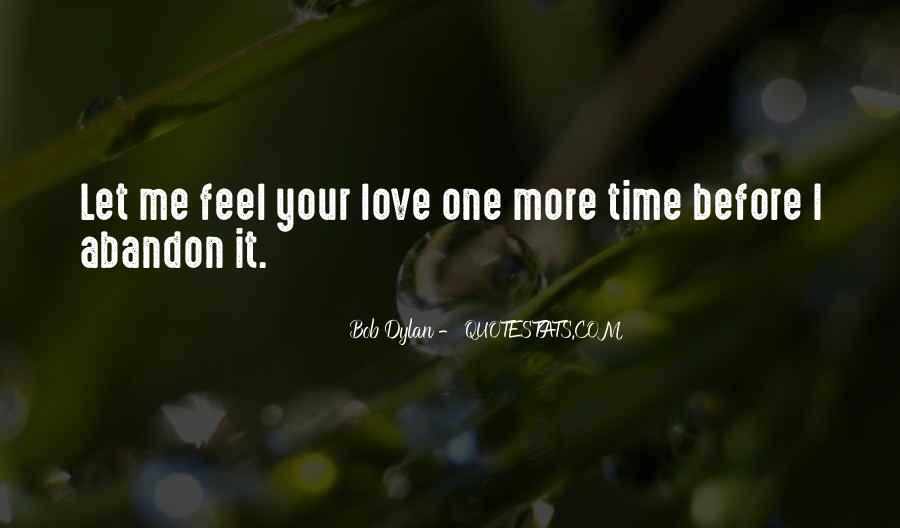 Love With Abandon Quotes #494259