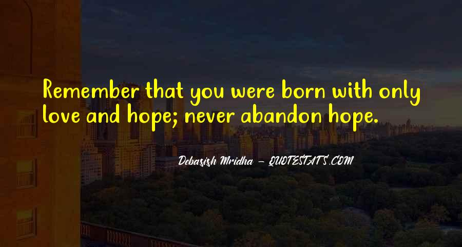 Love With Abandon Quotes #534540