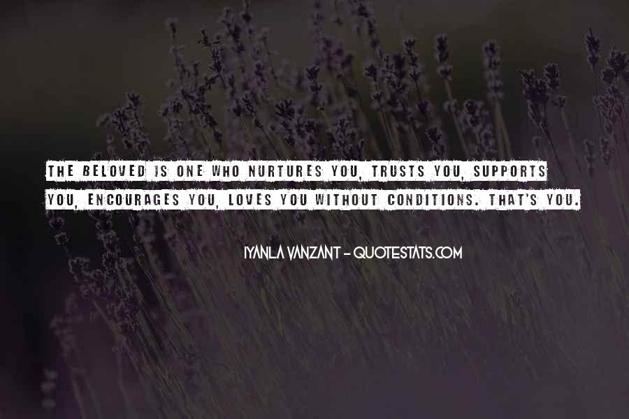Love With Conditions Quotes #258692