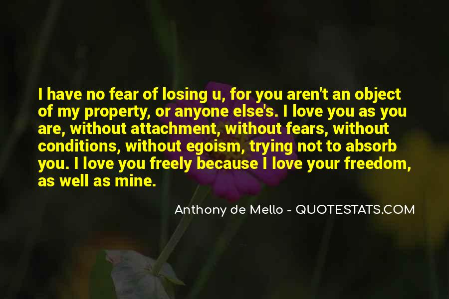 Love With Conditions Quotes #276891