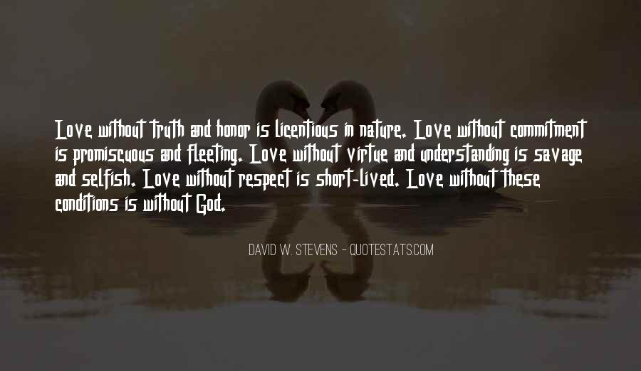Love With Conditions Quotes #523352