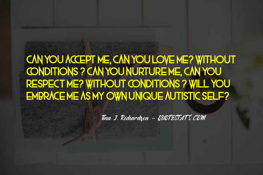 Love With Conditions Quotes #897809