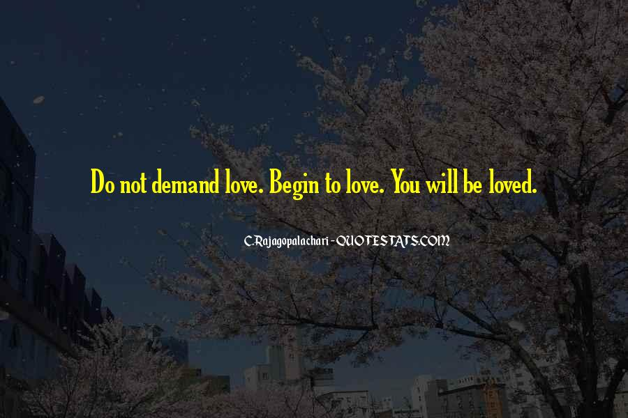 Love Without Demand Quotes #357306