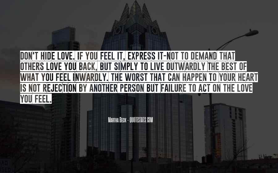 Love Without Demand Quotes #359891