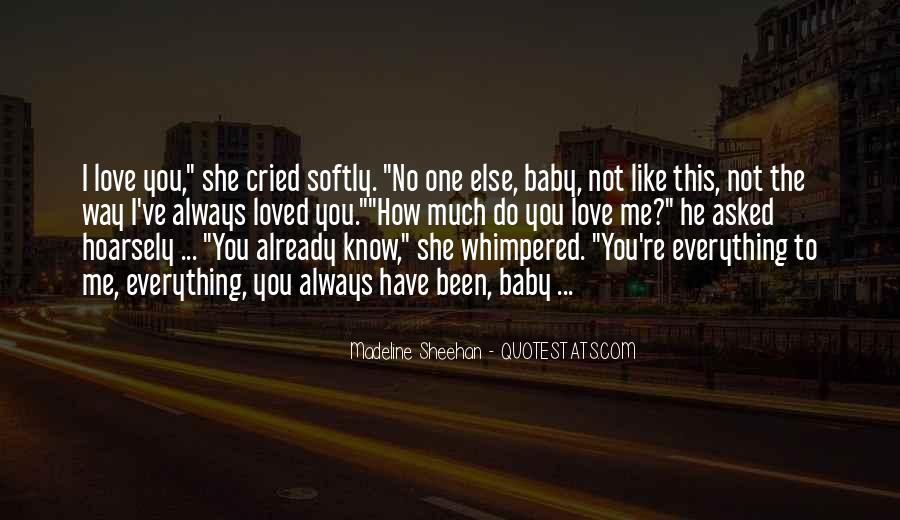 Love You Always Baby Quotes #741727