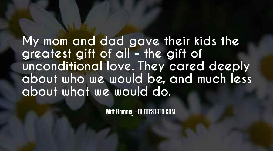 Love You Dad And Mom Quotes #1132133