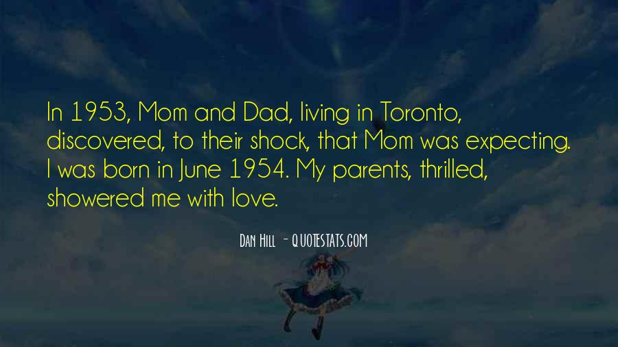 Love You Dad And Mom Quotes #1420910
