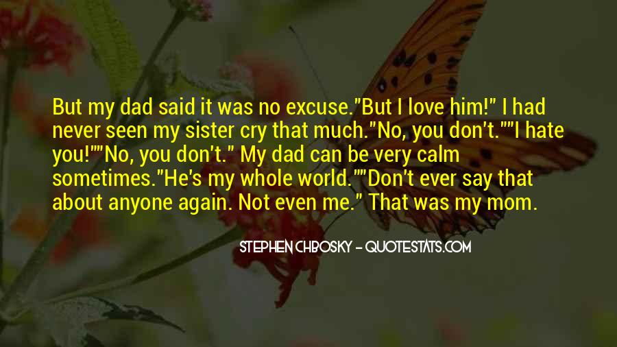Love You Dad And Mom Quotes #238444