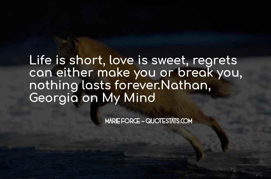 Love You Forever Short Quotes #1676874