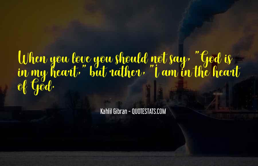 Love You In My Heart Quotes #464754