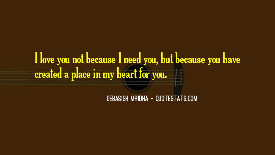 Love You In My Heart Quotes #575086