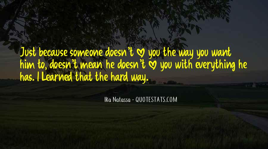 Love You Just Because Quotes #146669