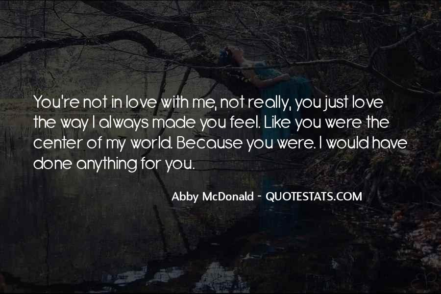 Love You Just Because Quotes #191224