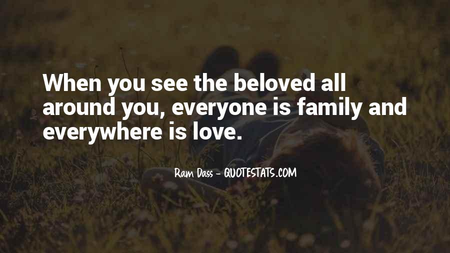 Love You Like Family Quotes #20661