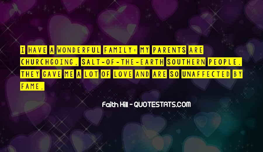 Love You Like Family Quotes #47162