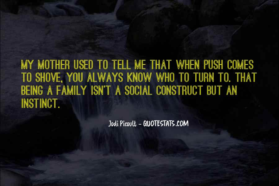 Love You Like Family Quotes #58330