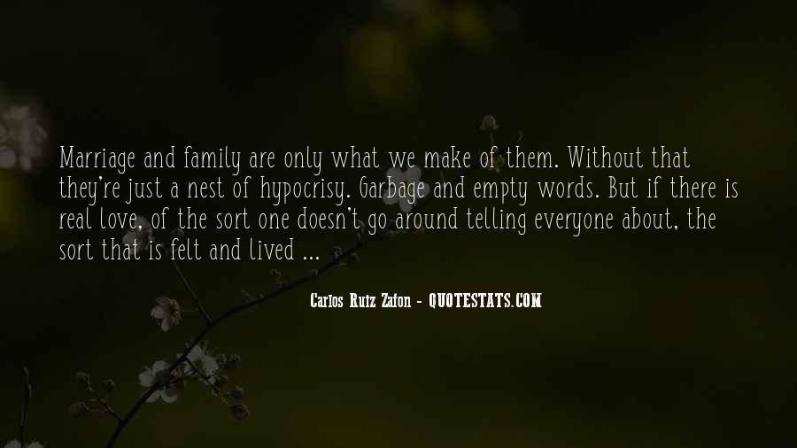 Love You Like Family Quotes #60471