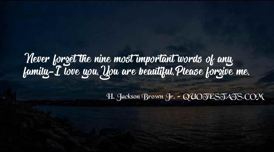 Love You Like Family Quotes #62227