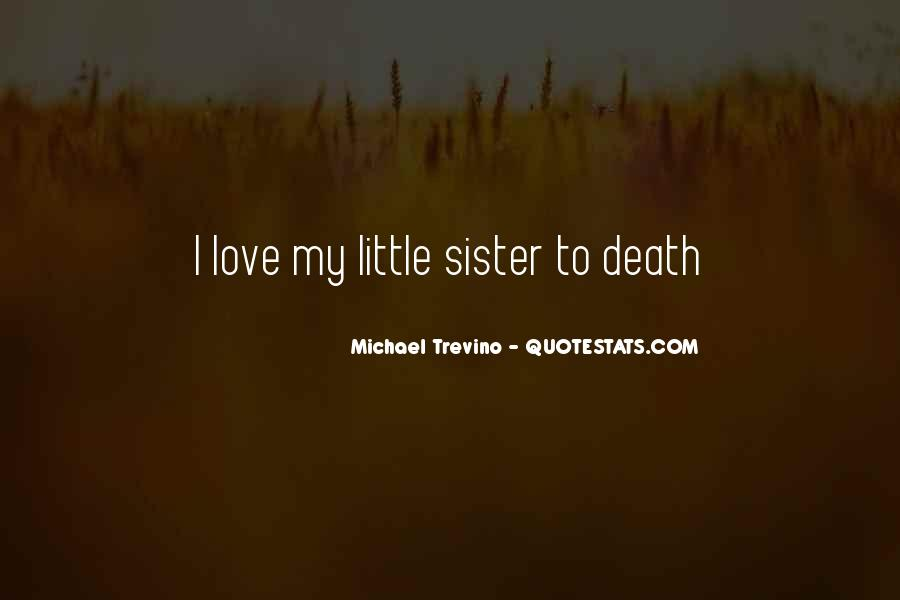 Love You My Little Sister Quotes #291060