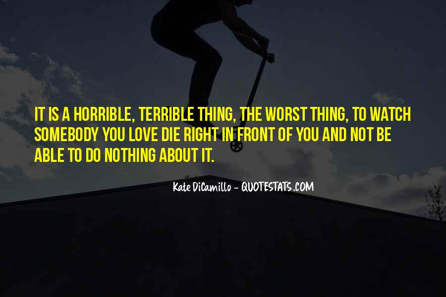 Love You Until Die Quotes #542