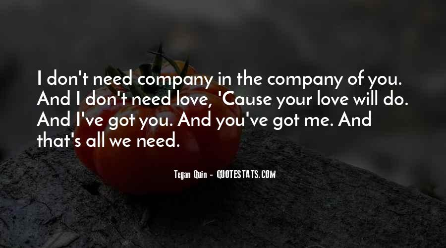 Love Your Company Quotes #1731115